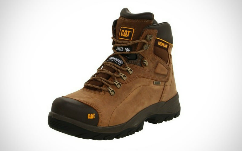 Caterpillar Men Diagnostic Waterproof Steel-Toe Work Boot