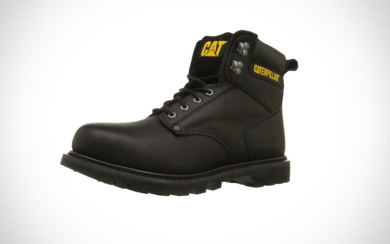 Caterpillar Men 2nd Shift 6 Plain Soft-Toe Work Boot