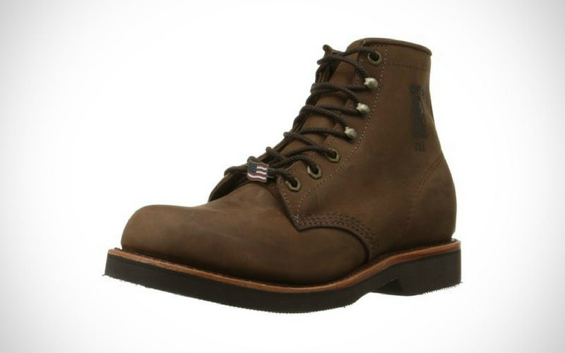 Chippewa Men 6 Rugged Handcrafted Lace-Up Boot