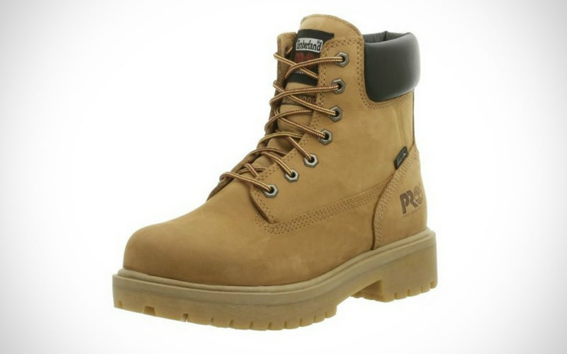 Timberland PRO Men Direct Attach Six-Inch Soft-Toe Boot