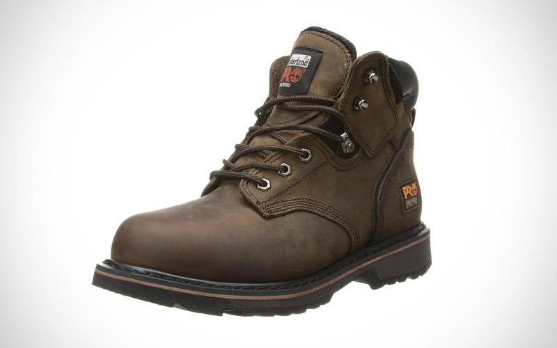 Timberland PRO Mens Pitboss 6 Steel Toe Boot