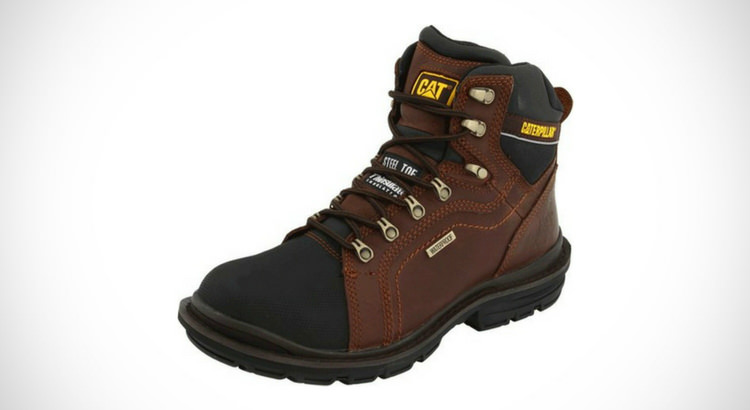 Caterpillar Men Manifold Tough Waterproof Work Boot